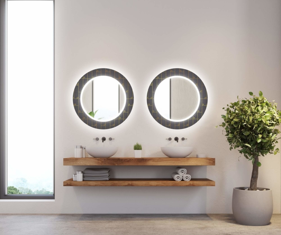 Specchio Controluce LED Decor 013